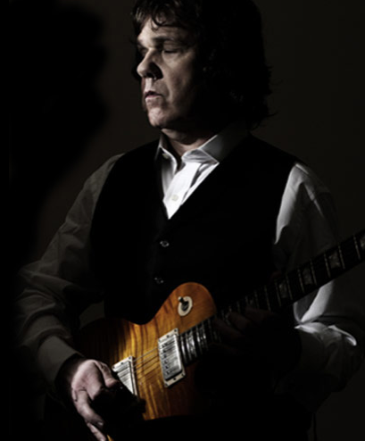Gary Moore is best known for playing with Thin Lizzy. | Photo: gary-moore.com
