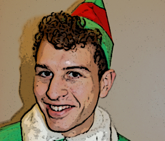 Simon Burgess is the Lincoln Elf on Twitter.