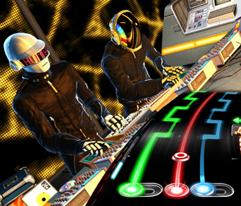 DJ Hero has several DJs and artists contributing to the game. | Photo: Activision