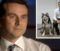 Professor Daniel Mills combines his behavioural and clinical knowledge to offer a referral clinic for animals with behaviour problems at the Riseholme campus. | Photo: BBC