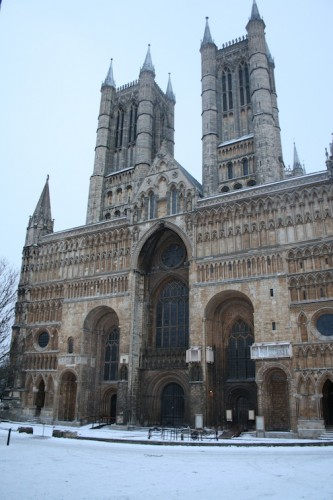 Front of the Cathedral, Lincoln — Chris Brandrick