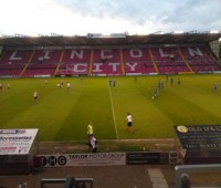 The Imps' match against Dagenham at Sincil Bank was postponed on Saturday.