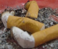 The government are proposing an extension of the smoking ban to stop smoking at the entrances of buildings. Photo: CC Saudi