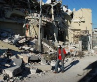 Large parts of Haiti's cities were destroyed by the earthquake. Photo: IFRC