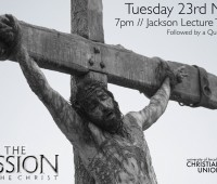 Passion of the Christ Poster made by the Christian Union