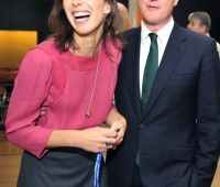 Samantha steals her husband's thunder in the style stakes. Photo: Conservativeparty