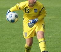 Sophie Harris will get the chance of her life when she trains with the U17s England Ladies team next week with first team coach Lois Fidler possibly looking on. Photo: Lincolnshire Sports Partnership