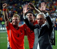 A change in philosophy for the Dutch national team has seen more success follow, with a World Cup semi-final on the horizon. Photo: Globovision