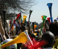 The vuvuzelas will be the lasting memory of this World Cup for many people. Photo: Dundas Football Club