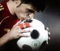 David Villa and his Spain team mates are just one game away from world domination. Photo: lembagg via Flickr
