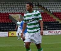 Hutchinson, 23, arrives at Sincil Bank having already played both Premier League and Scottish Premier League football.
