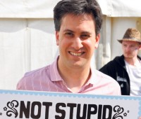 Scott Wheeler thinks Ed Miliband would win the left wing vote. Photo: DECC