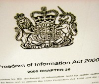 It's been ten years since the Freedom of Information Bill passed through parliament. Photo Shane Croucher