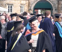 Jubilant graduates may have their hopes quashed when they hit the job market. Photo: Shane Croucher