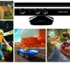 A selection of games for Kinect, Microsoft's new way of playing games. Photo: Microsoft