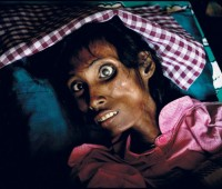 A picture from one of Zoriah's collections documenting the vast problem with AIDS in Asia. Photo: Zoriah Miller