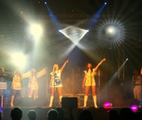 Waterloo are one of the biggest UK ABBA tribute acts touring today. Photo: Mad About Productions