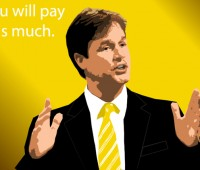Nick Clegg has said that there will be a cap on fees, despite Lord Browne's proposal to remove it altogether. Photo: I Forbes