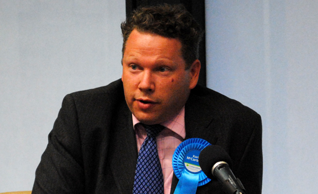 Karl McCartney, Conservative PPC for Lincoln