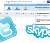 Skype, Twitter and Google Docs all feature on the new top ten study tools list. Photo: Anneka James