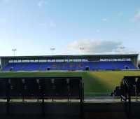 Shrewsbury's Greenhous Meadow has been a fortress for the Shrews and they remain unbeaten at home this season. Photo: waɪ.ti via Flickr