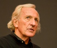 John Pilger spoke at the University of Lincoln on November 1st about some of his documentaries. Photo: Sam Cox