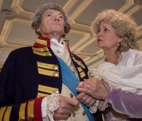 The Madness of George III starred Simon Ward and Susan Penhaligon. Photo: Blackeyed Theatre Company