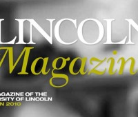 "The University of Lincoln has launched a new publication called ""Lincoln Magazine"". Image: UoL"