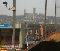 Hereford United are the first of two clubs to visit Sincil Bank in quick succession, with Bury making the journey east on Tuesday. Photo: blogdroed via Flickr