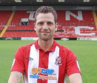 Defender Paul Green could return to the Imps' squad after three months on the touchline. Photo: Tom Farmery