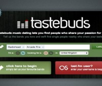 Online dating site Tastebuds.fm matches couples based on their music tastes.  Photo: Tastebuds.fm