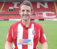 Scott Kerr was Lincoln City's longest serving player. Photo: Tom Farmery