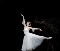 "Mara Galeazzi performing in ""Giselle"". Photo: Bill Cooper"