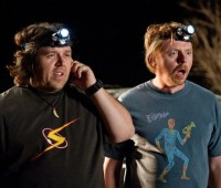 Paul is the third film to star Simon Pegg and Nick Frost. Photo: Universal Pictures
