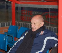Colin Murphy returned to the dug-out after winning two promotions with Lincoln. Photo: Mikey Mumford