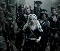 Emily Browning (front) gave a repetitive performance. Photo: Warner Brothers