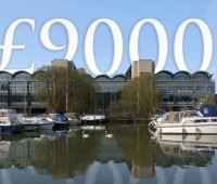 The University of Lincoln intends to charge fees of £9,000 per year from 2012. Photo: University of Lincoln)