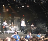Example performing at Evolution Festival 2011. Photo: David Wriglesworth
