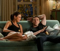 "Mila Kunis (left) and Justin Timberlake are ""Friends With Benefits."" Photo: Sony Pictures"