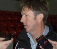Lincoln Ladies manager Rod Wilson says the club can still improve despite finishing 4th in the WSL. Photo: Mikey Mumford