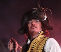Adam Ant proved that he still has what it takes to wow the crowd. Photo: Ge'shmally on Flickr