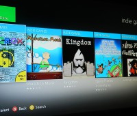 "Indie developers claim Microsoft ""hid"" the Xbox Live Indie Games option in the latest dashboard.  Photo: David Wriglesworth"