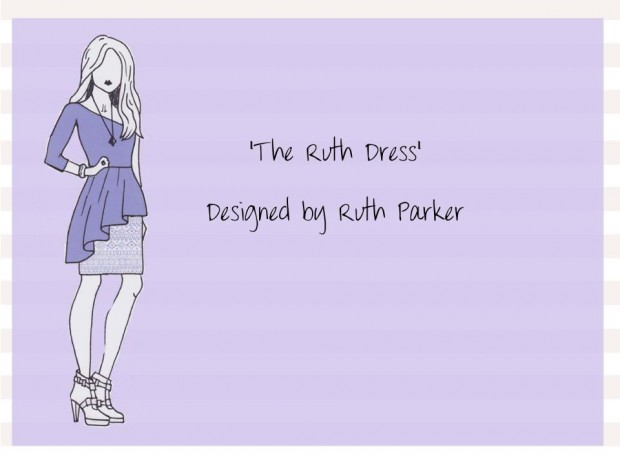 'The Ruth Dress', Ruth Parkers winning design.