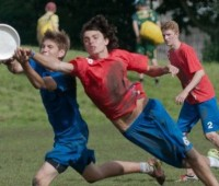 University of Lincoln student, Jack Gray represented Great Britain at Ultimate Frisbee. Photo: Jack Gray.