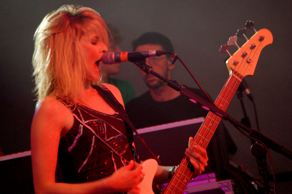 The Subways previously performed at Lincoln's Drill Hall in 2005. Photo: Michelle Woolnough