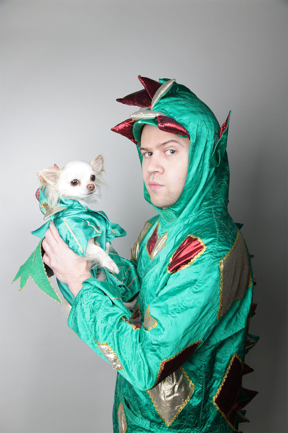Piff the Magic Dragon and Mr. Piffles returned to Lincoln in his new show. Photo: Impressive PR