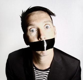 The Boy with Tape on His Face just goes to show that silence can be golden. Photo: Gag Reflex