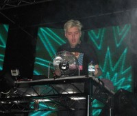 Real name Joshua Steele, Flux Pavilion at Lincoln's Engine Shed. Photo: Hannah Gilbey
