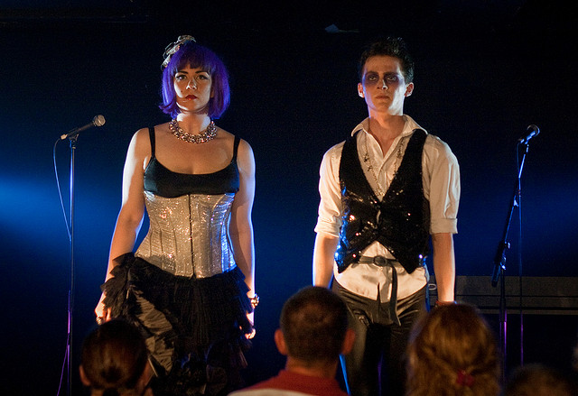 Frisky and Mannish are a British musical comedy cabaret double act. Photo: Chris Scott