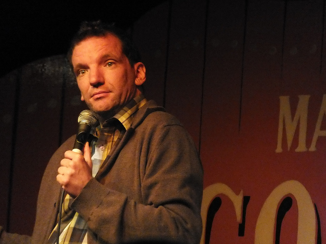 Henning Wehn is performing at the Lincoln Drill Hall as part of the Lincoln Comedy Festival. Photo: Isabelle Adam